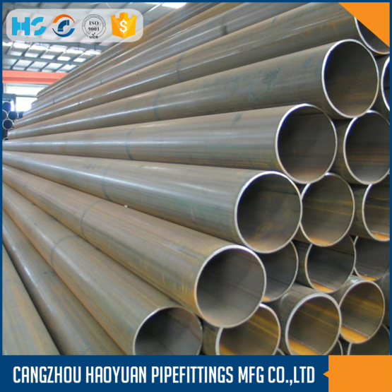 A106GRB Round Black Carbon Welded Steel Pipe