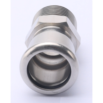 Stainless Steel Press Fitting Pipe Thread Coupling