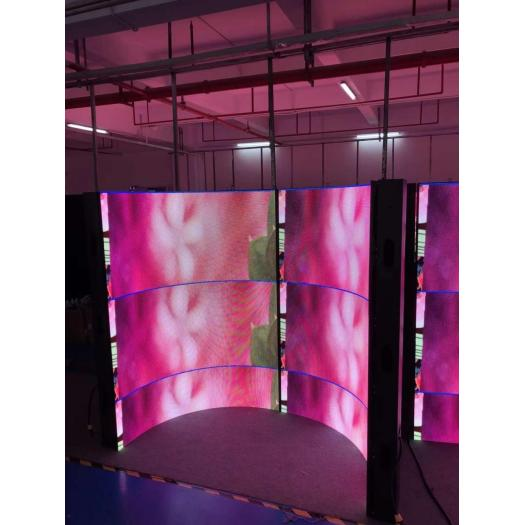 PH4 Indoor Flexible LED Display