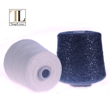 Topline sequin alpaca wool knitting yarn shop