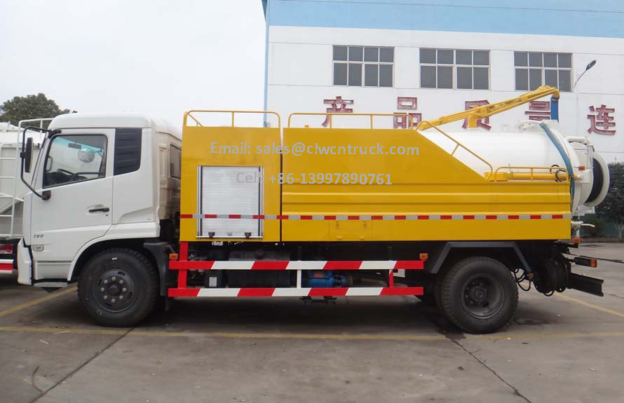 Jet Vacuum Trucks Supplier