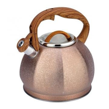 Ice follower whistling kettle