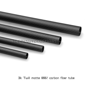15X12mm 3K Full Carbon Fiber Tube for Multicopter