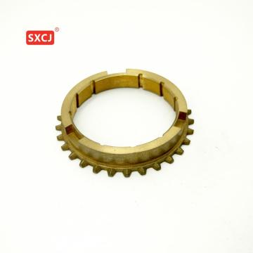 connecting tooth rings in gear box