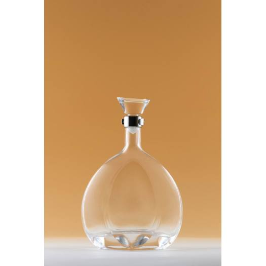 Glass Bottle with Round Shape