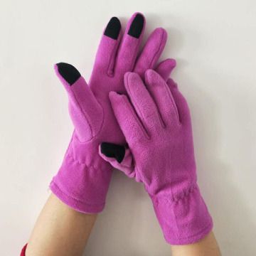 Oempromo Hot Sale Soft Winter Polar Fleece Gloves
