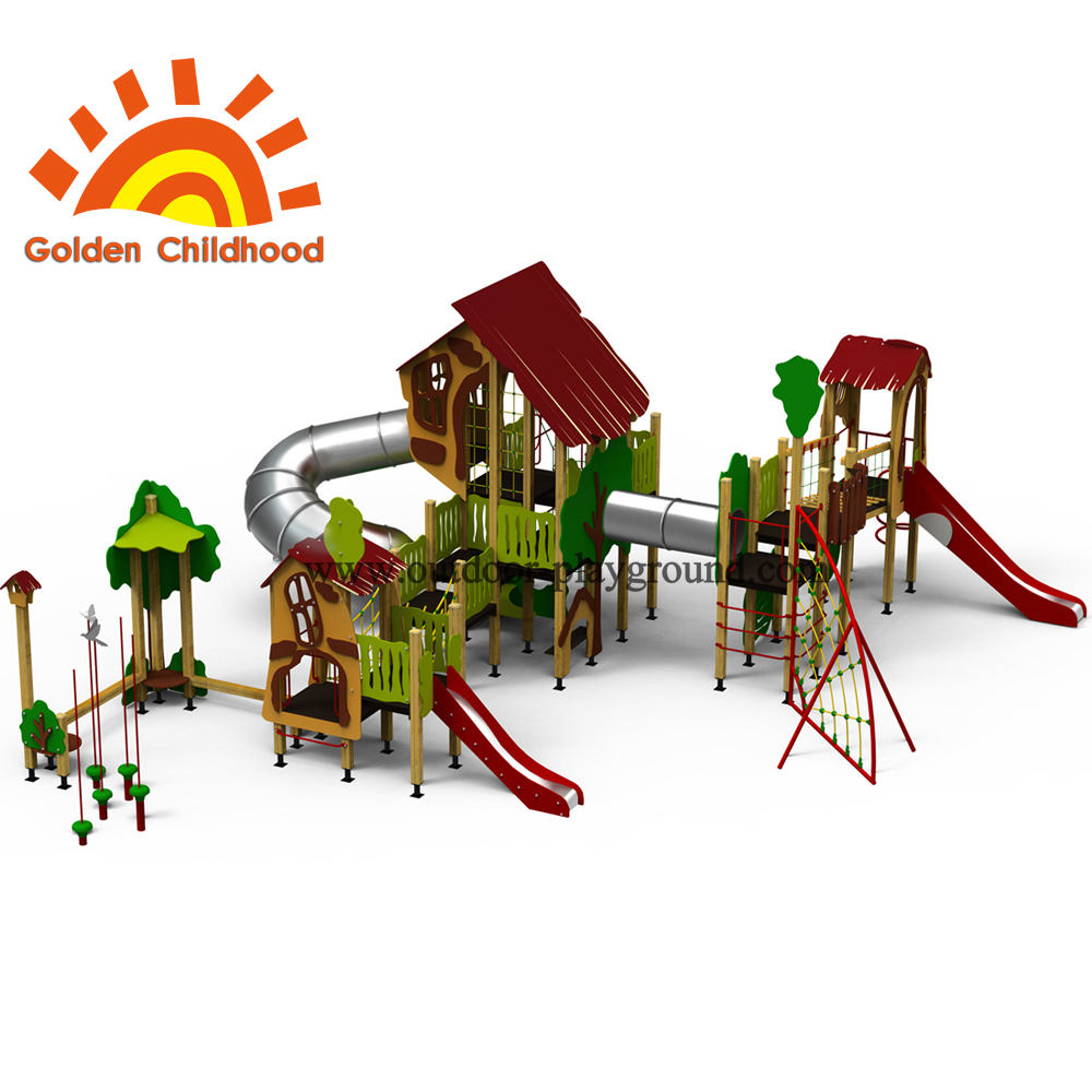 Fun Facility Outdoor Playground Equipment For Children2