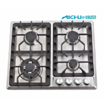 201 Level S.S Brushed Gas Hob