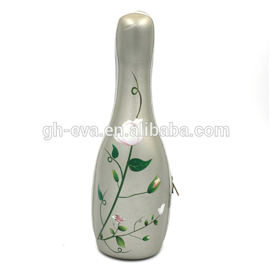 Bottles package products of wine PU wine carrier
