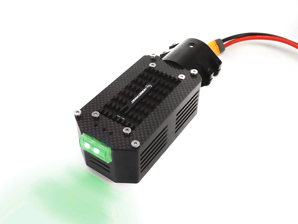 40mm Motor Mount Green LED