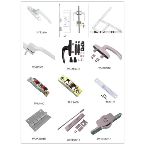 Accesoories For Casement Window Actuator/Handle/Hinge