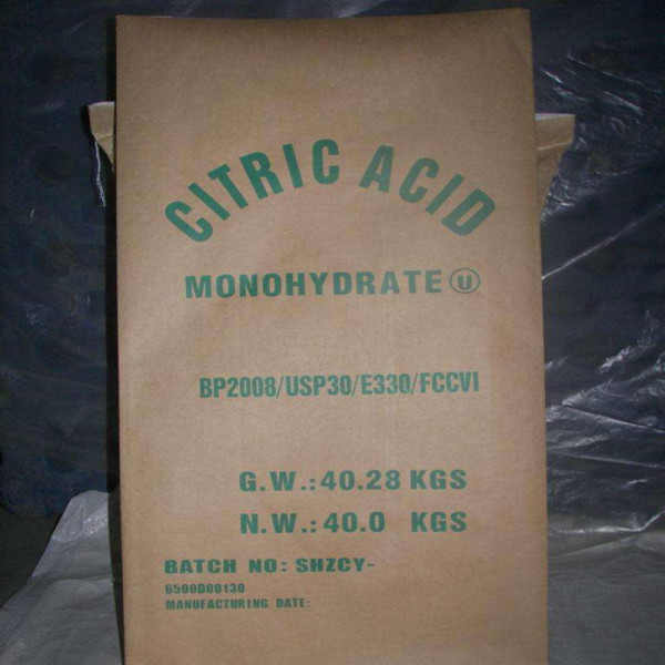 Food Grade Citric Acid Anhydrous Crystal Powder