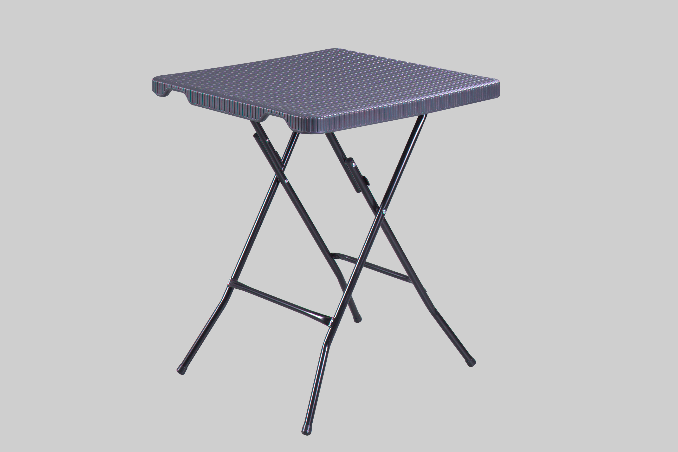 HDPE Wicker Square Table