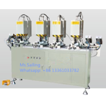 UPVC Window Four Head Screw Fastening Machine