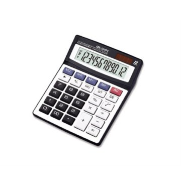 12-digit desktop calculators with two-way power