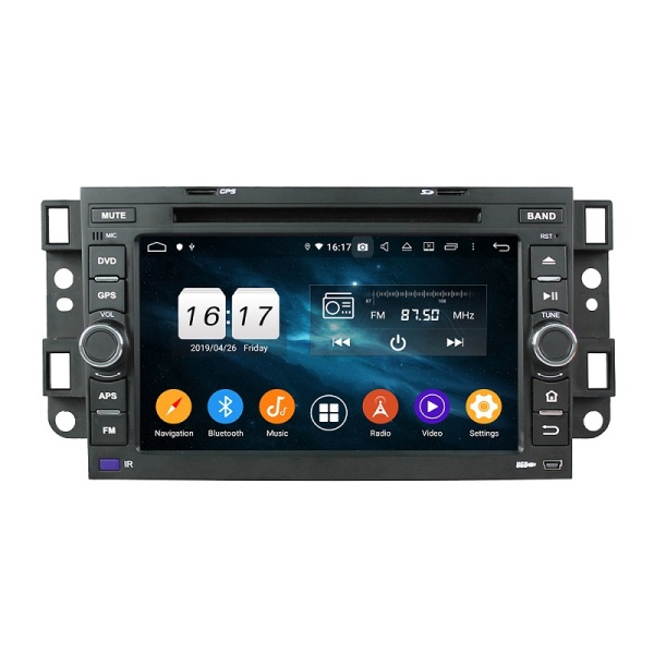 In dash car multimedia system for Aveo