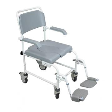 Shower Commode Chair With Castors