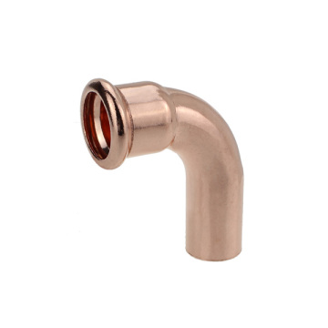 Copper 90 elbow F-M