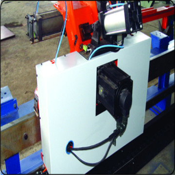 Punching  marking and shearing machine for angles