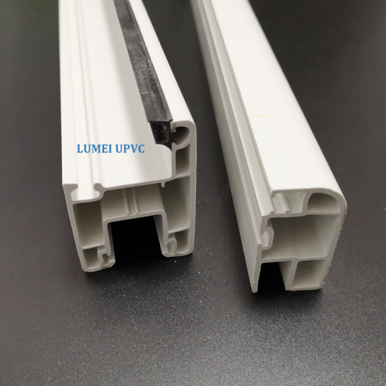 Two Track Sliding PVC Profile