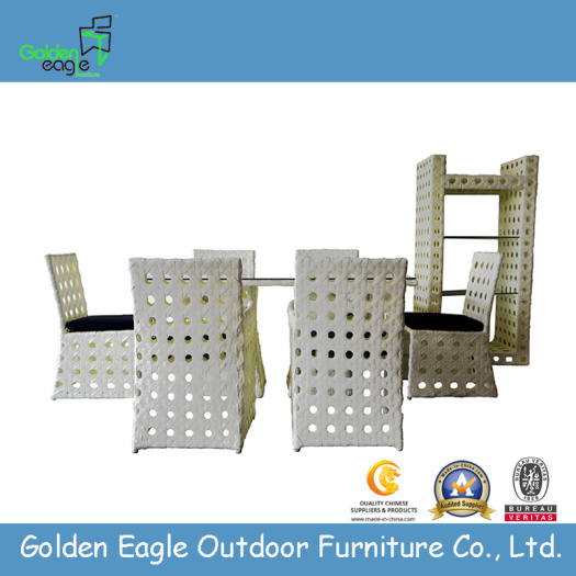 Hotel Furniture Type Rattan Dining Table