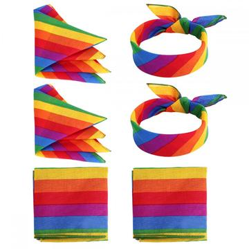 Rainbow Sports Headband Bandana For Women Men