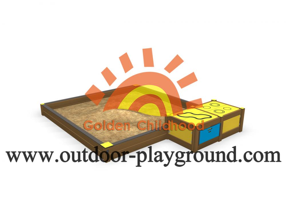 Playground Sandbox With Sit