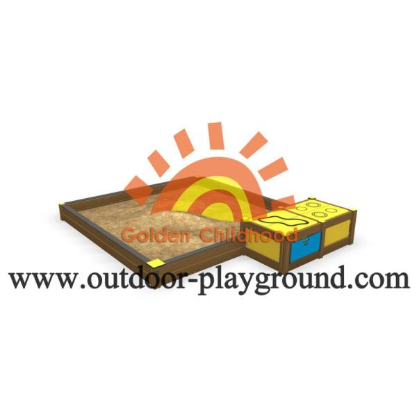 Children's HPL Playground Sandboxes with Covers