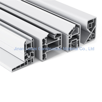 Custom Punched Plastic PVC Extrusion Profiles