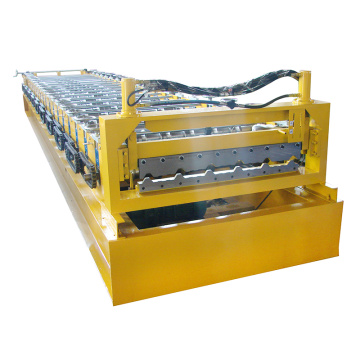 Fast speed roof tile 10 mm steel sheet roll forming machine