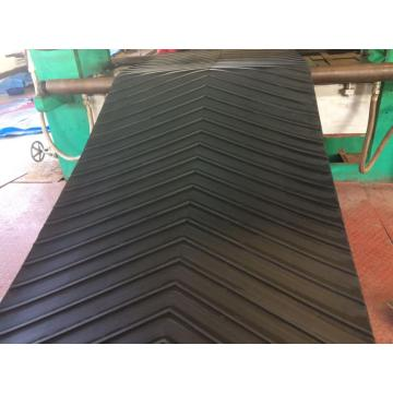 Chevron Conveyor Belt With Close V Type Profiles