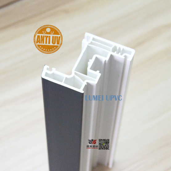 Plastic Upvc Windows & Doors Building Profiles Materials