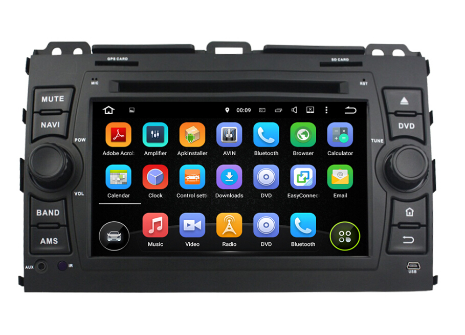 Car dvd player for Prado 2006-2014
