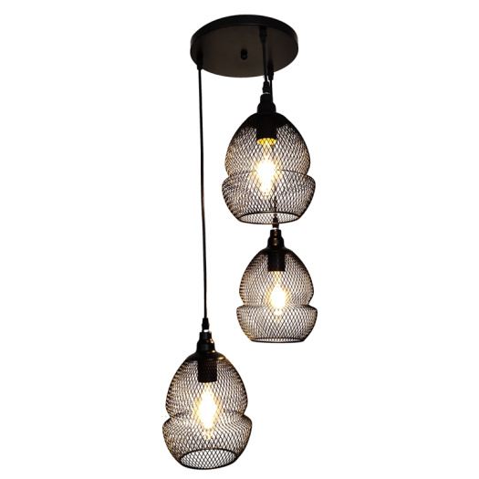 Modern Black metal Hanging Pendant Lamp Lighting