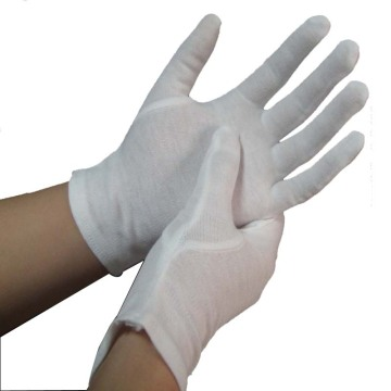 100% White Cotton Gloves