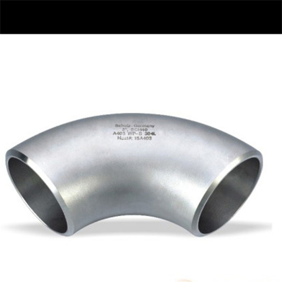 Ss304 Ss316 Sanitary Stainless Steel 90D Welded Elbow