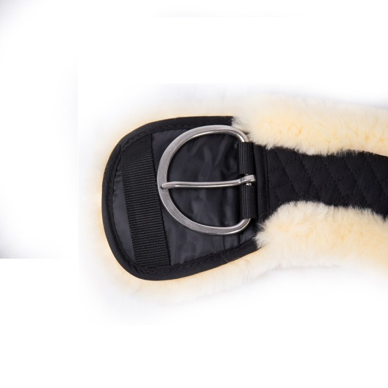 Moon Soft Western Strap with Sheepskin Saddle Girth