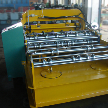 Corrugated roof sheets curving roll forming machine