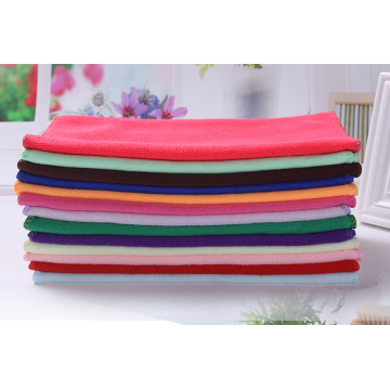 Colorful Soft and cheap microfiber towel
