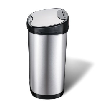 Double Classified Stainless Steel Sensor Trash Can