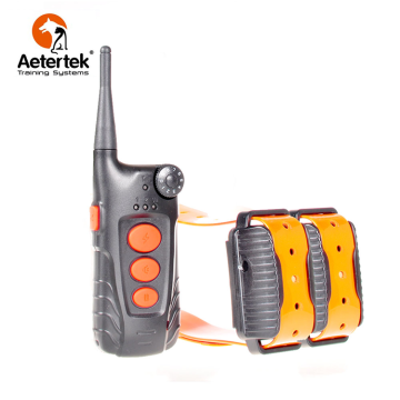 Aetertek AT-918C dog shock collar 2 receivers