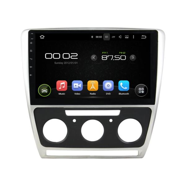 10.1 Inch Car Audio Systems GPS SKODA Octavia