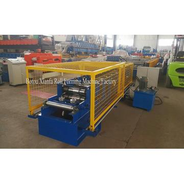 roof color steel rain gutter roll forming machine
