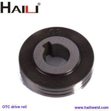 OTC drive roller for wire feeder