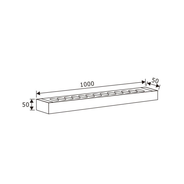 LED Wall Washer Light Bar