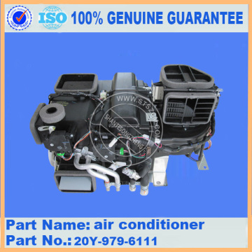 Komatsu spare parts PC200-7 air conditioner 20Y-979-6111 for cabin parts