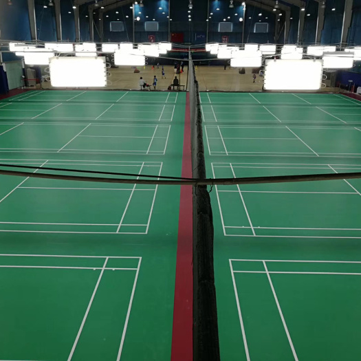 badminton floor/PVC floor for badminton court with BWF