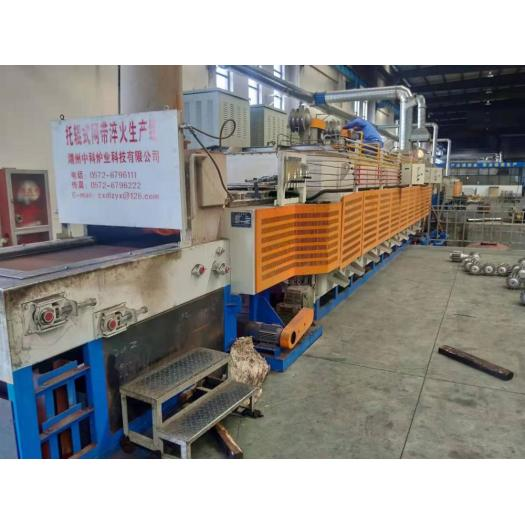 Roller type quenching furnace