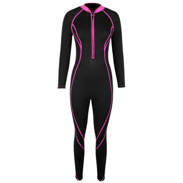 Seaskin Womens Front Zip Wetsuits for Scuba Dive