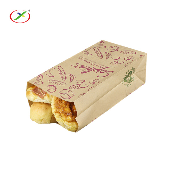 Food Packaging Paper Bag For Bread